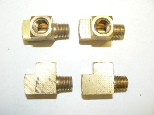 """Get 1 FREE Brass Bar Stock Tee Fitting 1//4/"""" NPT 1 pc SPECIAL: Buy 4 pcs"""