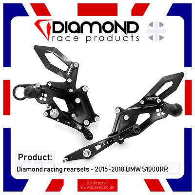 Zwierig Diamond Race Products - Bmw S1000rr 2017 '17 Rearset Footrest Kit