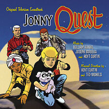 JONNY QUEST Hoyt Curtin 2-CD Set LA-LA LAND Soundtrack SCORE Hanna-Barbera NEW!