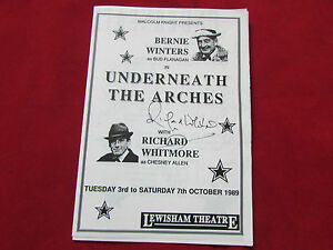 Underneath-Arches-LEWISHAM-Theatre-1989-Multi-Signed-Programme-SEE-PICTURES