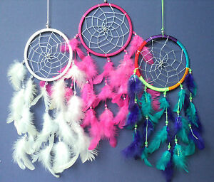 Dream Catchers For Children DREAM CATCHER BEAUTIFUL SILVER WEB single dreamcatcher Children's 27