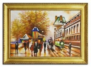 Oil-Painting-Pictures-Hand-Painted-with-Frame-Baroque-Art-96501