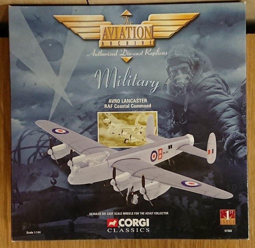 CORGI AVRO LANCASTER 47302 AVIAZIONE RAF COASTAL COMMAND 1st Edizione