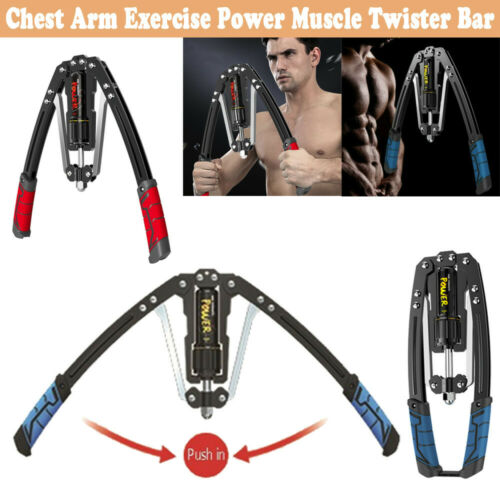 Chest Arm Trainer Exercise Cylinder Adjustable Twister Fitness Training Machine