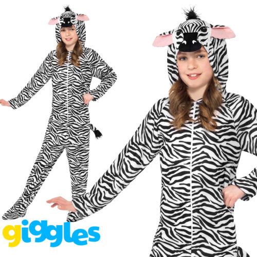 Zebra Comedy Animal Children Smiffys Fancy Dress Costume