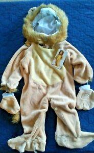 Sm 6-12mos Halloween Fun World Kids/' Toddler Baby/'s Cuddly Lion Infant Costume
