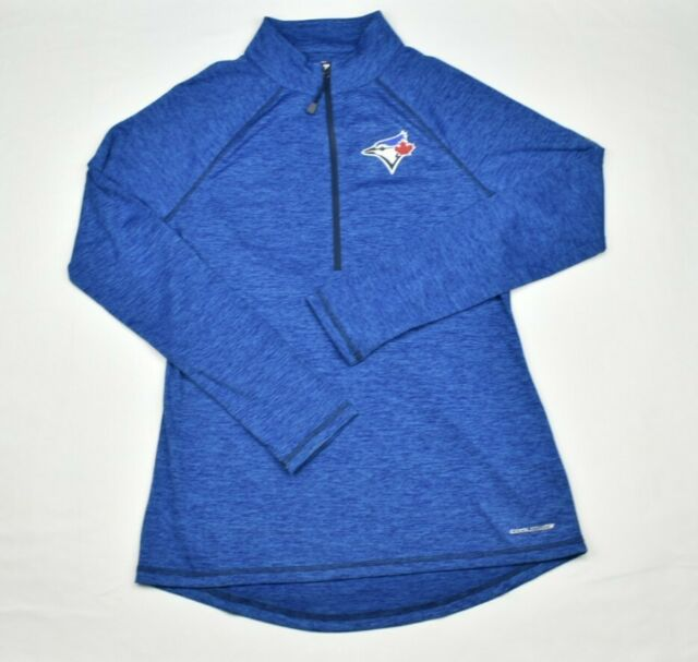 Toronto Blue Jays Majestic Women's CoolBase Long Sleeve T-Shirt MLB Large 166G1