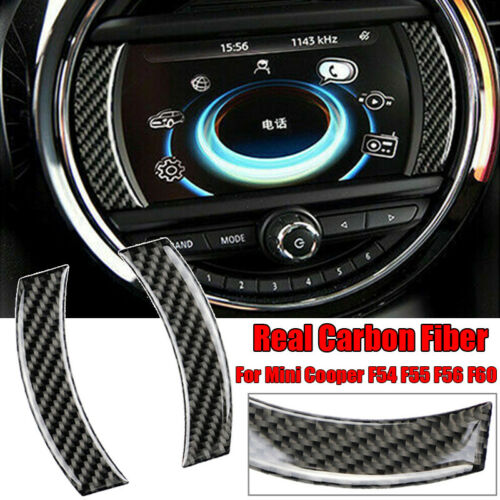 Für für Mini Cooper F54//F55//F56//F60 Carbon Faser GPS Navigation Aufkleber Rand