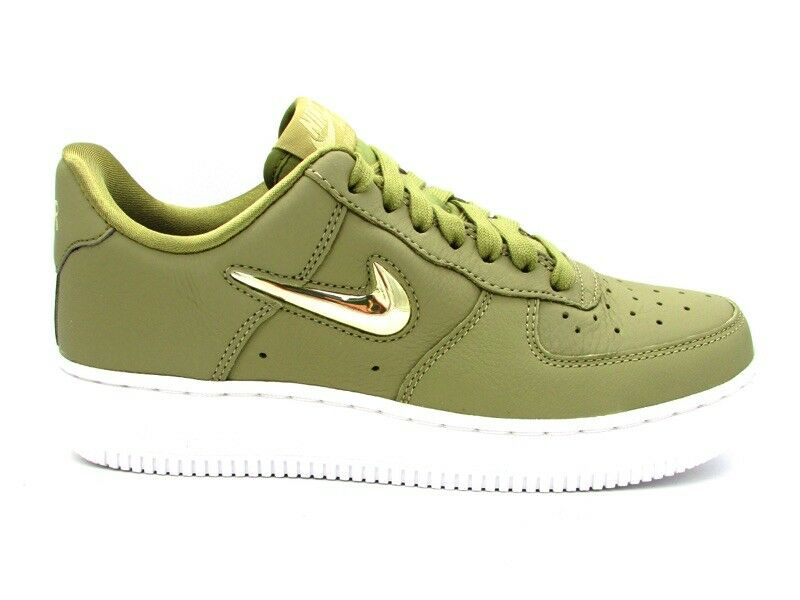 NIKE SNEAKERS WMNS AIR FORCE 1 '07 PRM LX VERDE BIANCO AO3814-200
