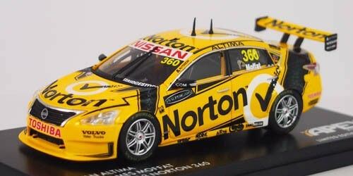 1 43 Apex - 2013 Winton 360 - Norton Racing  360 - James Moffat NEW IN BOX