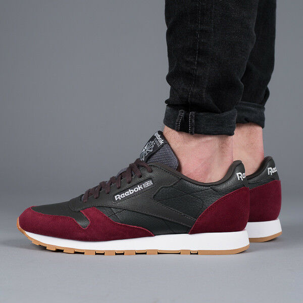 MEN'S SHOES SNEAKERS REEBOK CLASSIC LEATHER [BS9744]