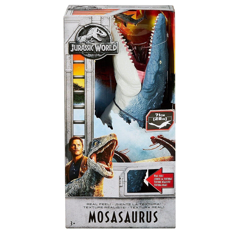Jurassic World Fallen Kingdom Real Feel Mosasaurus Mosasaurus Mosasaurus Action Figure NEW FREE SHIP ca5c19