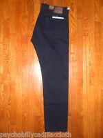 Levis Vintage Clothing 501 Lvc 1978 Black Overdye Selvedge Cone Mills Jean 38x34