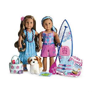 American Girl Doll Kanani Paddle New