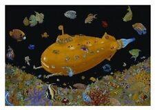 YELLOW SUBMARINE - OCEAN REEF BLACKLIGHT POSTER 22X34 - 706