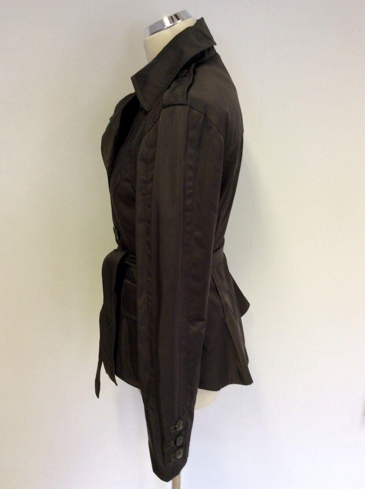 Taille Femme 62c700 Veste Ceinture Marron S Cravate Zara faqxwq