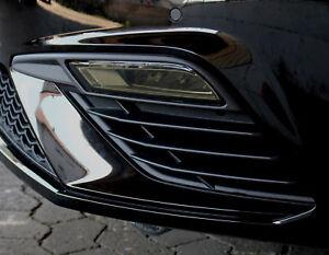 C029-Nebelscheinwerfer-Blenden-Aufkleber-Folie-Set-Dark-Seat-Leon-5F-Facelift
