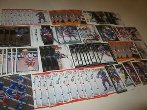 Huge-Lot-of-88-Brian-Leetch-Hockey-Cards-Rangers