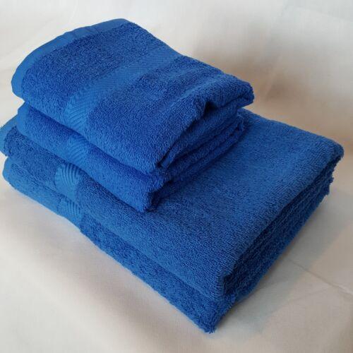 Qualité Indulgence 100/% coton 450gsm couleur bleu roi main serviettes de bain