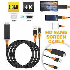 Type-C USB-C to 4K HDMI HDTV TV Cable Adapter For Samsung Galaxy S10 Note 9 HGU