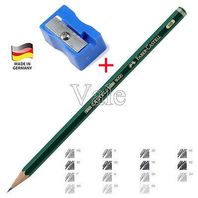 Artist Art Graphite Pencil H 2H HB 2B 3B For Writing Drawing Sketching+Sharpener