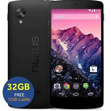 LG Nexus 5 D821 32GB Unlocked SIM-Free Smartphone - Black GSM Used UK Free USED