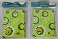 American Greeting Bundle Of 16 Fun Green Circle Themed Party Invitations Lot