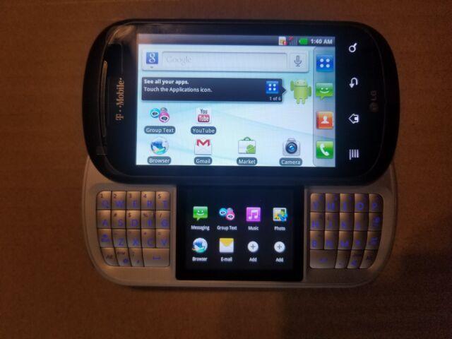 LG C729 Doubleplay - 2GB - Black (T-Mobile) Smartphone Slider