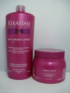 KERASTASE-NEW-CHROMA-CAPTIVE-BAIN-SHAMPOO-1000-ML-MASK-500-ML-BOTH-SALON-SIZE