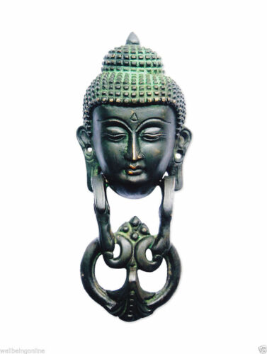 Laiton Heurtoir de Gautam Buddha Métal heurtoir livraison gratuite