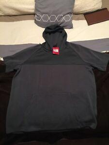 c39a798eada5 Nike Jordan Pullover Hoodie Grey Green RARE 642456-008 Concord 11 ...