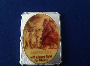 1977-B-H-Mayer-Americans-Will-Always-Fight-For-Liberty-BHM-69-Silver-Bar-P1840