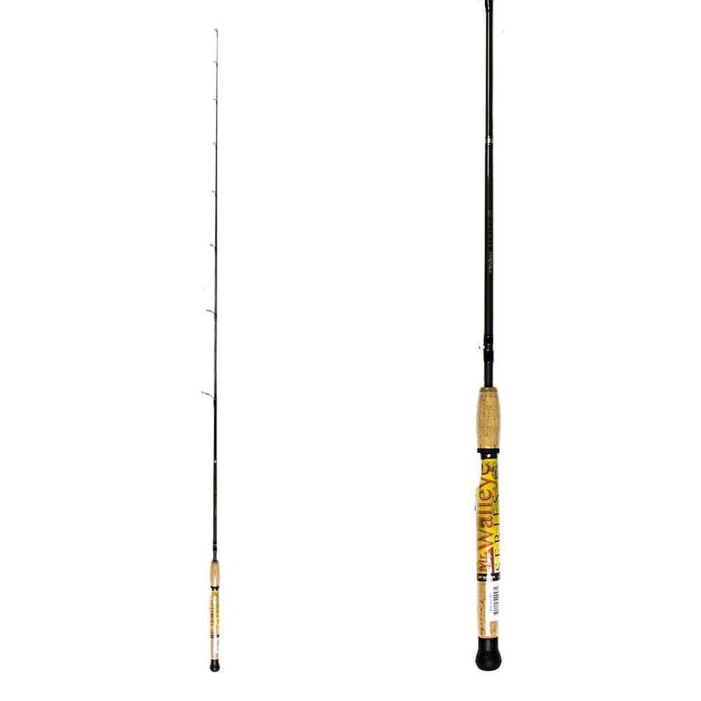 New Norsemen MR WALLEYE Spinning Rod Medium Light 6'6'' deeper water rig fishing