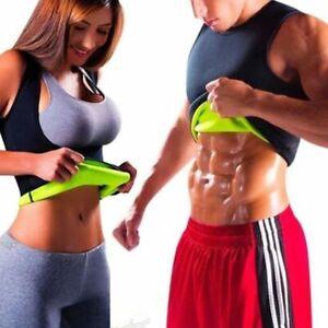 Men-amp-Women-Sauna-Sweat-Slimming-Trainer-Vest-Neoprene-Yoga-Thermal-Body-Shaper