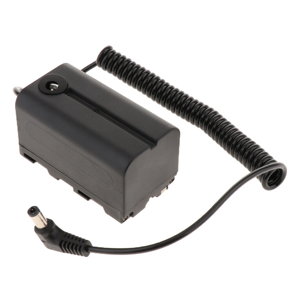 NP-F750/F970/F550 Dummy Battery DC Coupler for Camcorder YONGNUO LED Light