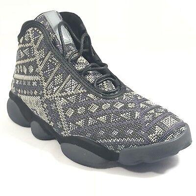 finest selection e6535 ee287 Nike Air Jordan Horizon Premium Size 10.5 Black Purple Steel Charcoal  822333 022