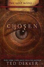 CHOSEN~THE LOST BOOKS~BK 1 by TED DEKKER~NEW~HARDCOVER~FANTASTIC SERIES~260 PGS