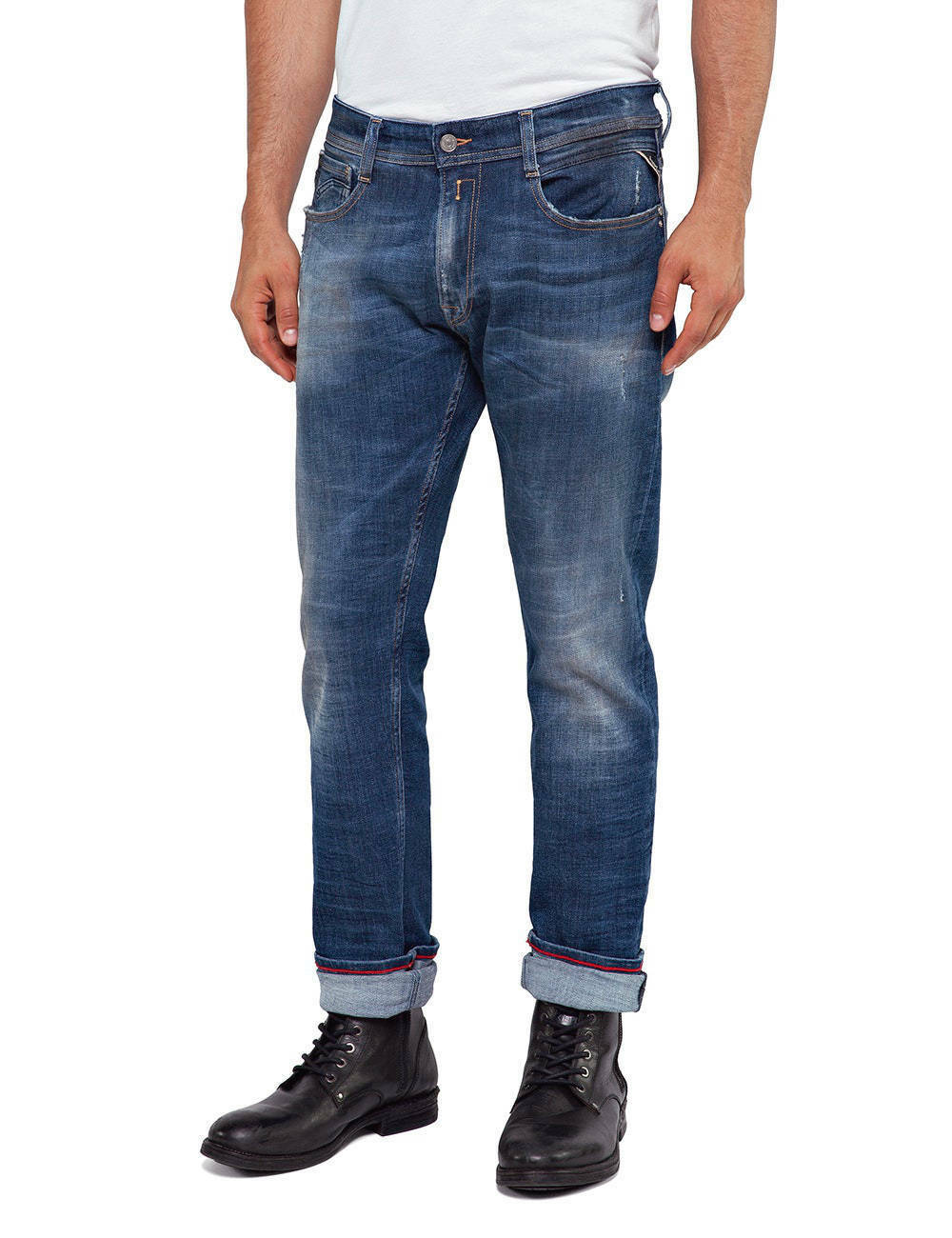 REPLAY Jeans ma950 Rob Rob Rob  5 years aged  - COLLEZIONE Straight Tapered NUOVO 1ed6e4