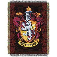 The Northwest Company Warner Bros Harry Potter Gryffindor`s Crest Tapestry Throw