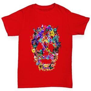 Twisted-Envy-Floral-crane-de-Garcon-Drole-T-Shirt