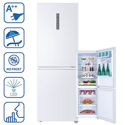 Kühlschrank Kühl-Gefrierkombination A++ Haier C3FE-732CWJ Chiller Zone Weiß LED