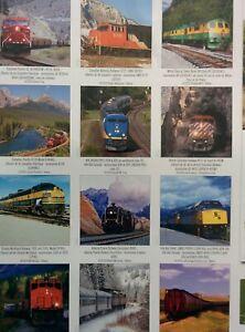 RAILWAYS OF CANADA 2011 CALENDAR can use NEXT YEAR in 2022 Great Photos