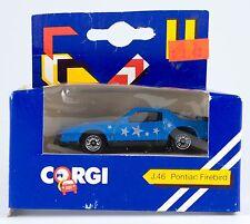 Vintage Corgi Junior Pontiac Firebird J46 Schweppes NIB Great Britain 1984