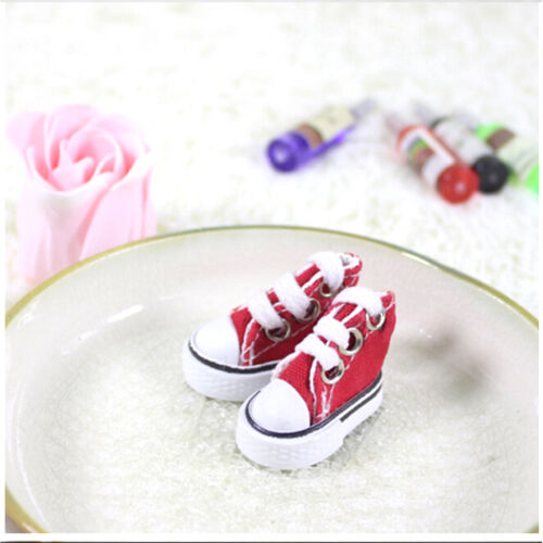 5cm Doll Shoes Denim Canvas Toy Shoes1//6 For Russian  Doll Sneacker NICA
