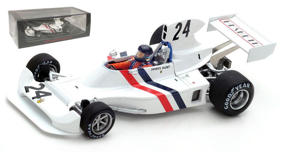 SPARK S2241 Hesketh 308  24 3rd Sweden GP 1974-James Hunt échelle 1 43