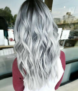 Brazilian-100-Real-Human-Hair-Wigs-Ombre-Silver-Gray-Lace-Front-Full-Lace-Wigs