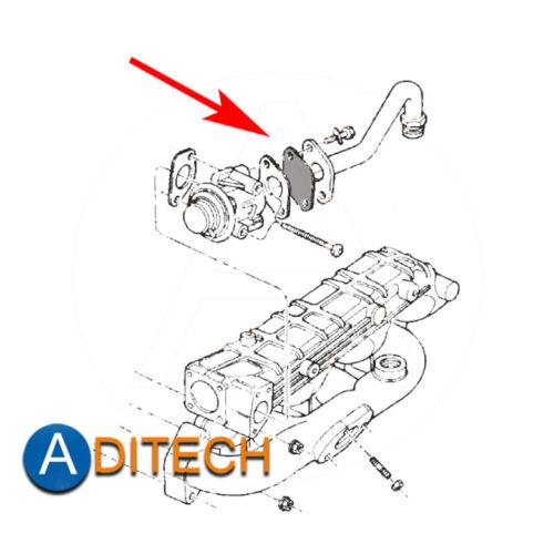 516 AGR Verschlussplatte Dichtungen für CHRYSLER Voyager JEEP Cherokee 2.5 3.1 T