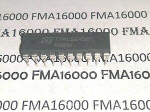 X2 T74LS245B1 DIP20 ORIGINAL THOMSON-SGS T74LS245-B1 74LS245 74LS245-B1 LOT DE 2
