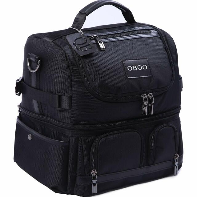 Oboo Lunch Box Insulated Bag Double Reusable Waterproof Large Cooler