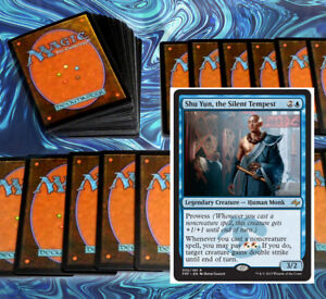mtg-RED-BLUE-IZZET-PROWESS-DECK-Magic-the-Gathering-60-card-monastery-swiftspear